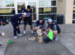 Penn State Football: Players Race, Give Tours And Play Jenga With THON Families